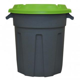 Бак для отходов 80л пластик, зеленый для пищ./непищ. прод .(до -30)