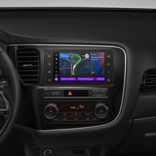 Бортовой компьютер Яндекс.Авто для Mitsubishi Outlander (с 2012 года) (+ Камера заднего вида в подарок!)