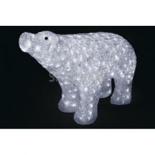 """Neon-Night Акриловая светодиодная фигура """"Белый медведь"""" 80*55 см, IP 44, понижающий трансформатор в комплекте, NEON-NIGHT"""