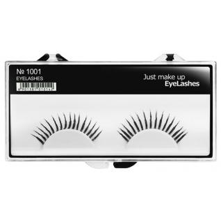 JUST - Накладные ресницы классические черные EyeLashes 1001