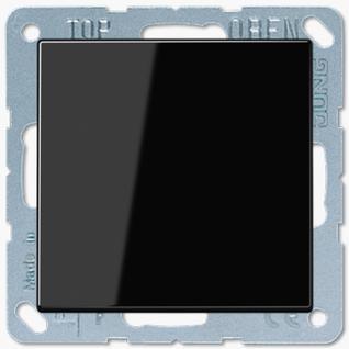 Выключатель Jung LS серия (501U-LS990SW) одноклавишный 10А черный пластик