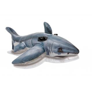 "Надувная игрушка ""Белая акула"", 173 х 107 см Intex"