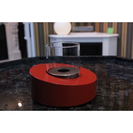 Биокамин Glass Ovale Rosso 853125 4