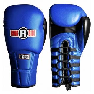 Ringside Перчатки профессиональные RINGSIDE IMF PFG синие, 10 унций