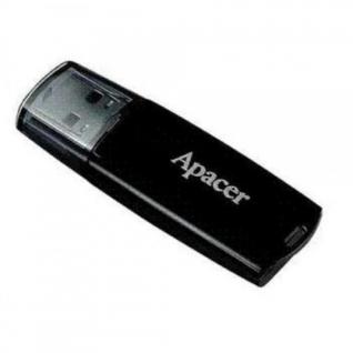 Память USB 2.0  4 GB Apacer Handy Steno AH-322 Black (AP4GAH322B-1)