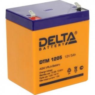 Аккумуляторная батарея Delta DTM 1205 (12V/5Ah)_D_K