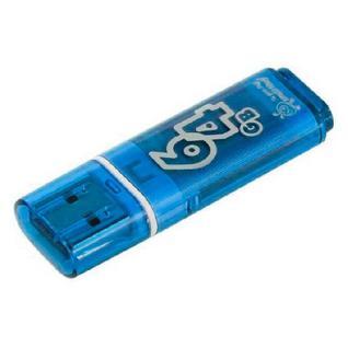 Флеш-память Smartbuy 64GB Glossy series Blue