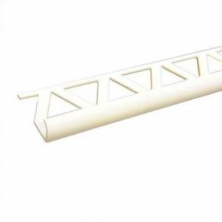 Уголок ПВХ для кафеля наружный 7-8мм белый L-2.5м (50 шт. в уп)