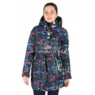 Куртка горнолыжная удлиненная женская 14718