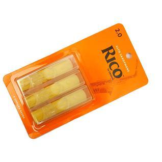 Трости для саксофона альт, размер 2.0, 3шт, Rico