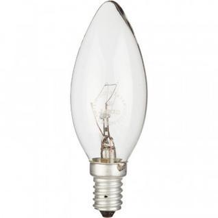 Электрическая лампа СТАРТ свеча/прозрачная 40W E14