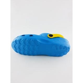 610-01М кроксы голубой/желтый. дюна 27-34 (32) Дюна