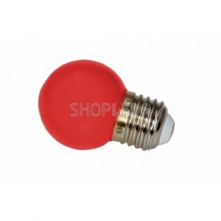 Neon-Night Лампа шар e27 3 LED ∅45мм - красная