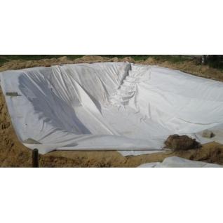 Геотекстиль (дорнит) 200 гр/м2 шир. 6м (100 м.п)