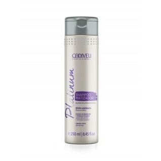 Cadiveu Platinum Home Blonde Balance Shampoo - Тонирующий шампунь