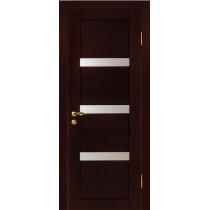 Дверное полотно МариаМ ПВХ Квартет остекленное 600-900 мм