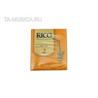 Трости д/саксофона альт  №2 RICO RJA1020