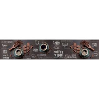 Фартук для кухни АБС Время кофе №57 600х3000х1,5мм