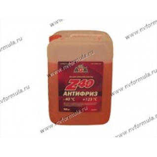 Антифриз AGA-40 003Z 10кг красный