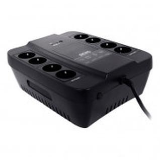 ИБП Powercom Back-UPS SPD-450N OffLine 450VA/270W Schuko 8 EURO розеток