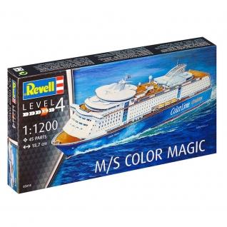 Сборная модель круизного корабля M/S Color Magic, 1:1200 Revell