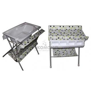 Пеленальный столик с ванночкой Forkiddy Born ForKiddy