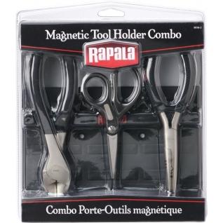 Комбо-набор Rapala 1 (магнитная доска; бокорез (18 см); ножницы; плоскогубцы)