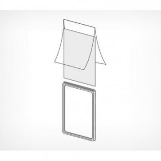 Карман-протектор для пластиковой рамки А6, 10шт.уп