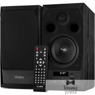 Sven SVEN АС MC-10, чёрный (50 Вт, FM-тюнер, USB/microSD, дисплей, ПДУ, Bluetooth)