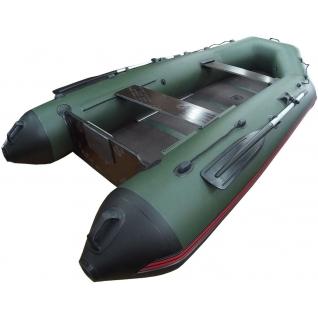 Моторная лодка Морская линия 320 Н (салазки, опора, жесткий транец, киль, цельная слань)