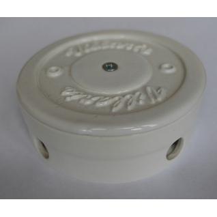 Распределительная Коробка керамическая D90 H35 (белый) NEW