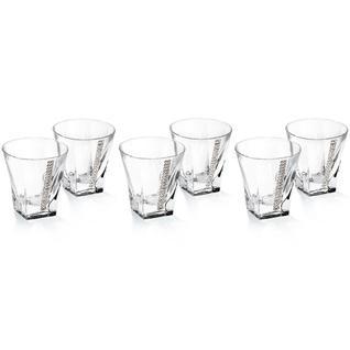 6 стопок для водки Chinelli Regina Swarovski 50 мл (арт. 34152)