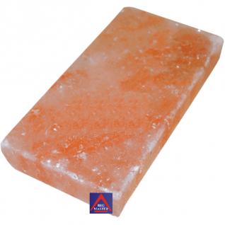 Плитка из гималайской соли 200х100х25 мм для бани и сауны (все стороны гладкие, арт. SF2)
