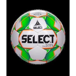 Мяч футзальный Select Talento 852615, U-9, №2, белый/зеленый/оранжевый (2)