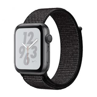 Часы Apple Watch Nike+ Series 4 GPS 44mm Space Gray Aluminum Case with Black Nike Sport Loop MU7J2
