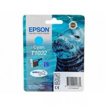 Картридж Epson T10324A для Epson Office T30, T40W, TX600FW, оригинальный, увеличенный (голубой, 980-1015 стр.) 7573-01