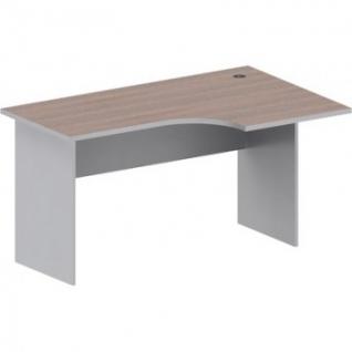 Мебель Easy St Стол прав(008,235)т.дуб/сер.(560/030)Ш1400