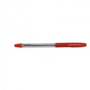 Ручка шариковая PILOT BPS-GP-F резин.манжет. красный 0,32мм Япония