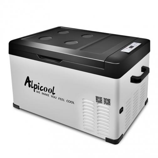 Kомпрессорный автохолодильник ALPICOOL C30 черный (30л, 12/24/220В) 36995009 3