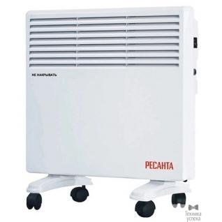 Ресанта Ресанта ОК-1000Е (LED) 67/4/12 Конвектор 500/1000 Вт, защита от перегрева, электронный термостат, LED дисплей, таймер выключения, защита IPX4, вес 4 кг