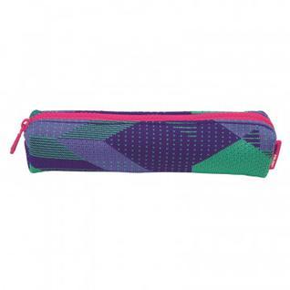 Пенал косметичка Milan Knit фиолетовый 20,5x4,5x5 см, 081129KNPL