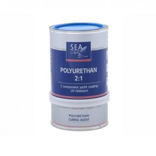 Полиуретановая краска Sea-Line Polyurethan 0,75 голубая (8162)