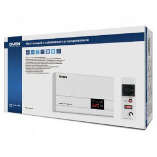 Стабилизатор напряжения SVEN AVR SLIM-500 LCD.