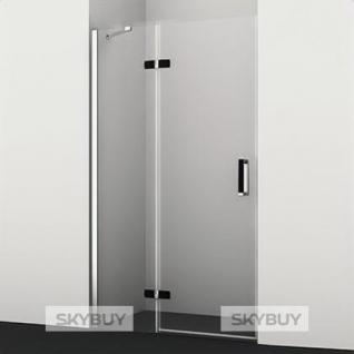 Душевая дверь в нишу Wasserkraft Aller 10H05LB black matt, 120 см