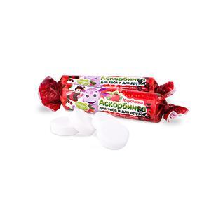Аскорбинка Лунтик Клубника 3 гр, 10 жевательных таблеток Фарм-про