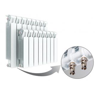 Радиатор Rifar Monolit 350 х 4 сек НП лев MVL