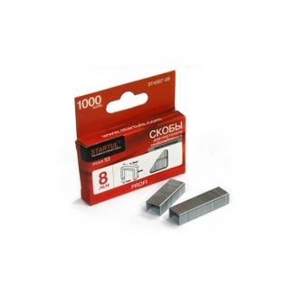Скобы закалённые 6мм тип 53 (1000шт) STARTUL PROFI (ST4507-06) STARTUL