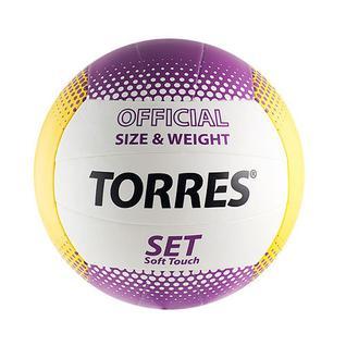 Мяч в/б Torres Set, р.5, синт. кожа
