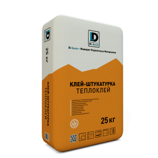 """Клей монтажный """"Теплоклей"""" De Luxe 25 кг"""