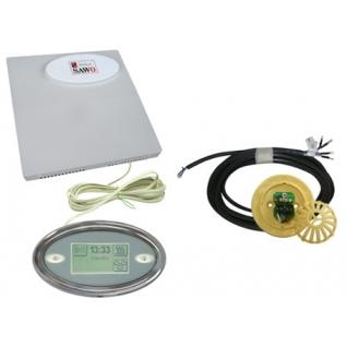 Пульт для сауны Sawo Innova Touch INT-S (сенсорная панель + блок INP-C, без доп. функций, для печей до 15 кВт)